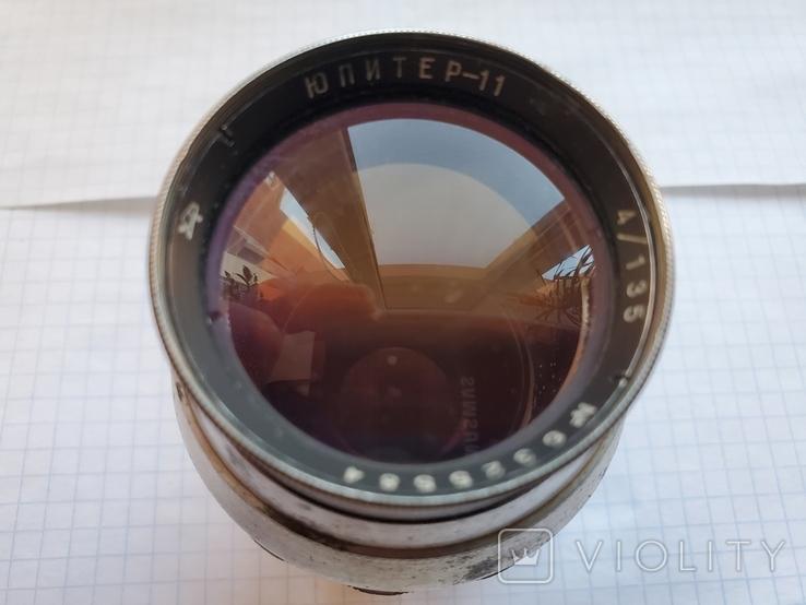 """Объектив """"Юпитер-11"""",4/135,N6325584., фото №2"""