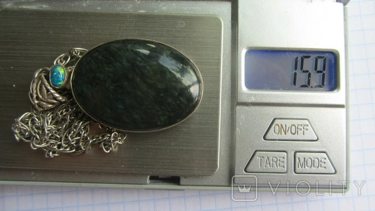 Кулон. Серебро 925., фото №8