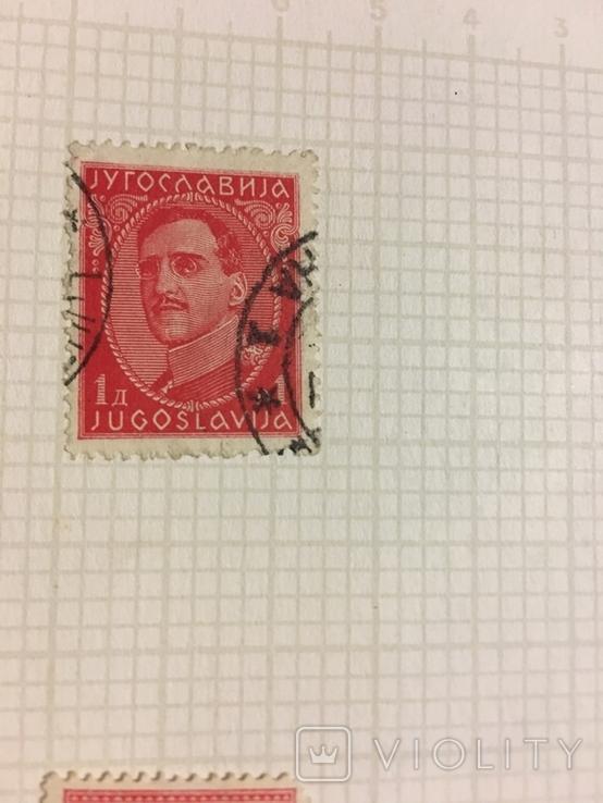 Марки ( Югославия 1931 г, Королевство Сербии, Хорватии, Словении 1921-1926гг, Босния), фото №11
