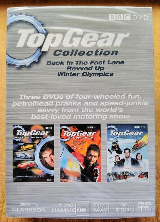"""Запечатанная BBC DVD """"Top Gear"""" коллекция из трёх дисков, 2006 г., фото №2"""