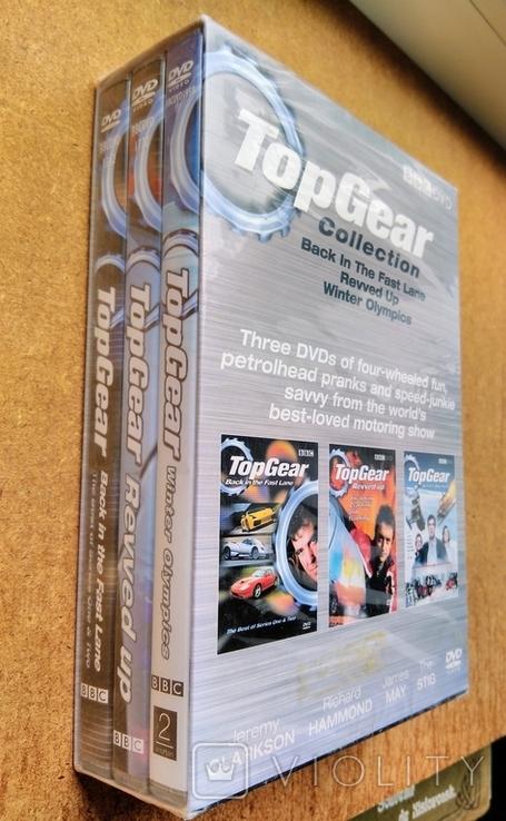 """Запечатанная BBC DVD """"Top Gear"""" коллекция из трёх дисков, 2006 г., фото №3"""
