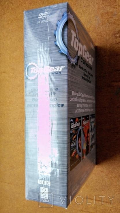"""Запечатанная BBC DVD """"Top Gear"""" коллекция из трёх дисков, 2006 г., фото №7"""