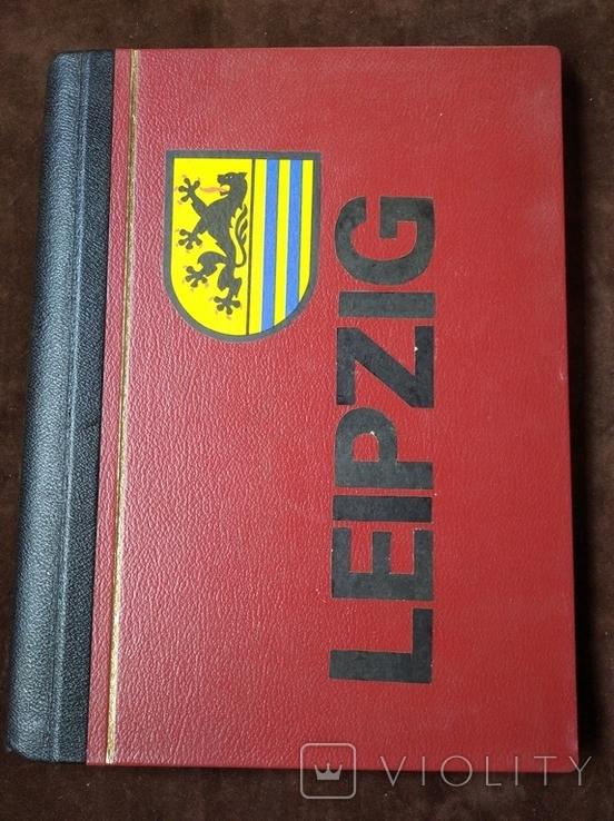 Альбом самодельный с видами Лейпцига 70-е годы, фото №2