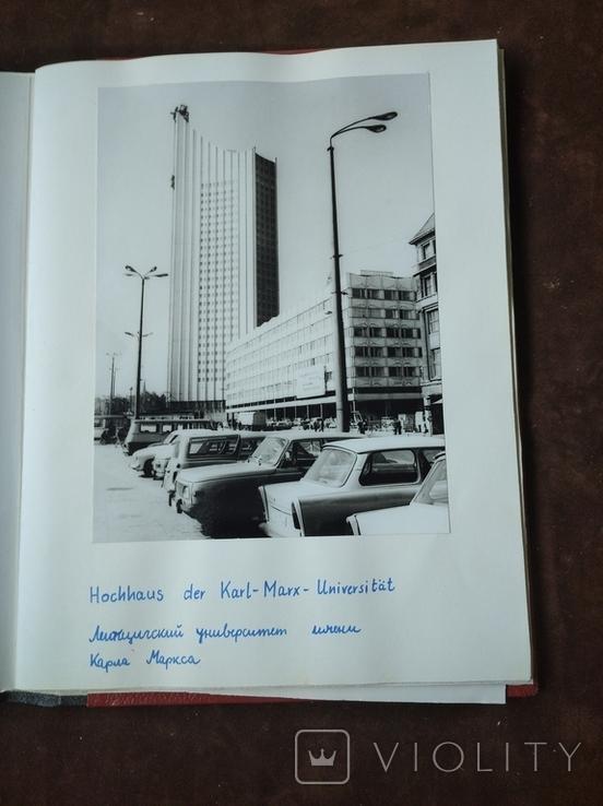 Альбом самодельный с видами Лейпцига 70-е годы, фото №5