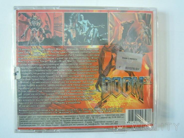 CD диск Doom 3 Addon, фото №3