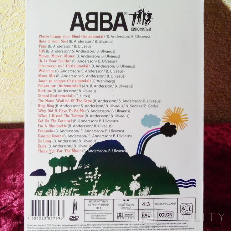 """DVD """"ABBA"""" ( кінофільм), фото №4"""
