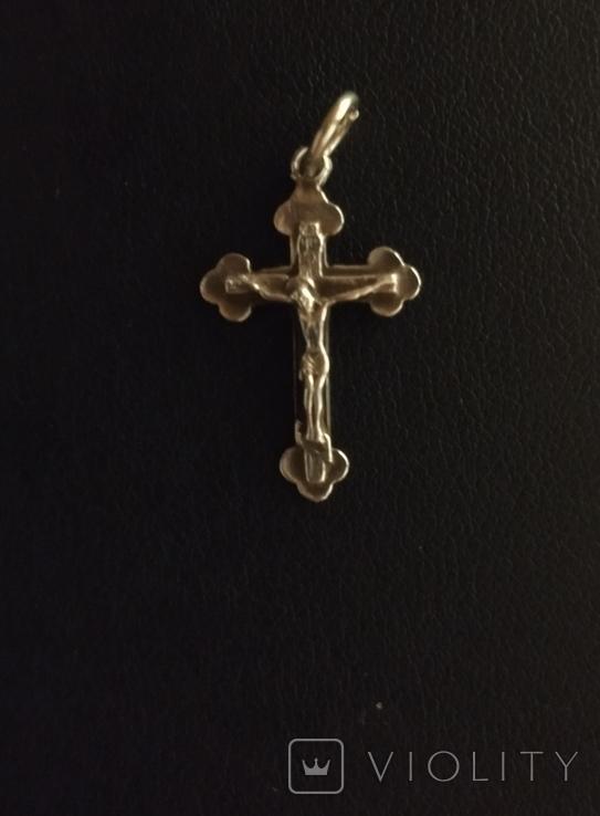 Хрестик з Єрусалиму срібло, фото №2