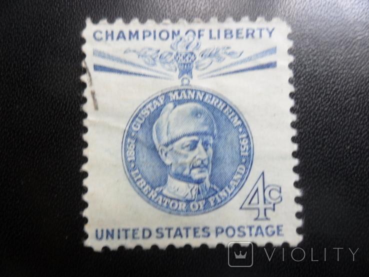 США. 1951 г. гаш, фото №2