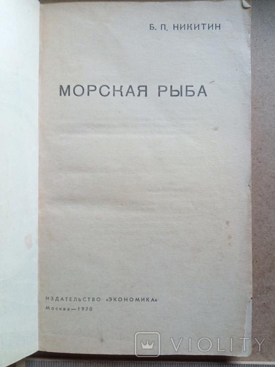 Морская рыба (Б.Никитин, 1970), фото №13
