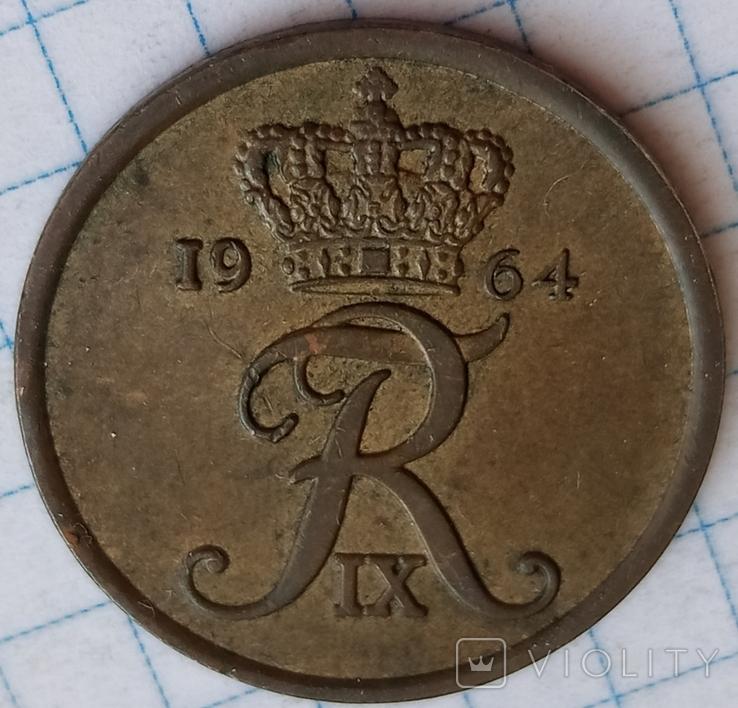 Дания 5 оре 1964, фото №3