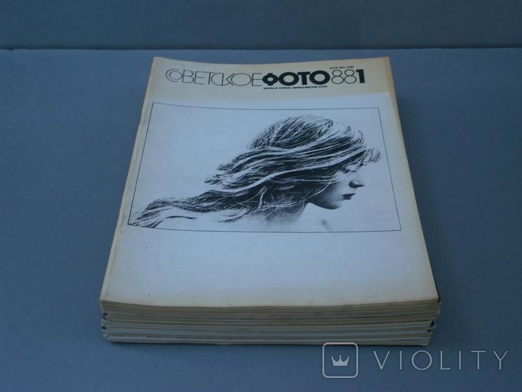 Журналы Советское фото 1988 год - 12 шт., фото №3
