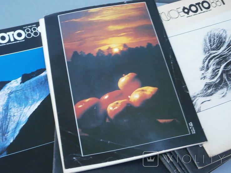 Журналы Советское фото 1988 год - 12 шт., фото №6