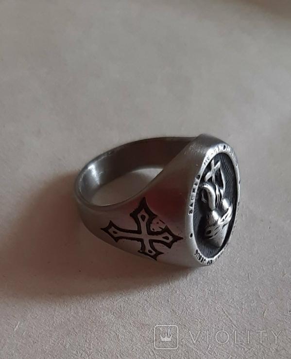 Перстень, кольцо Священное сердце Иисуса, фото №7