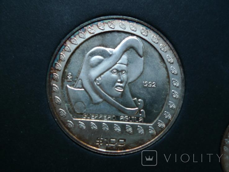 """Набор монет """"Мексика"""", фото №5"""
