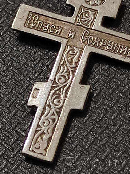 Крест серебро 925*, фото №7