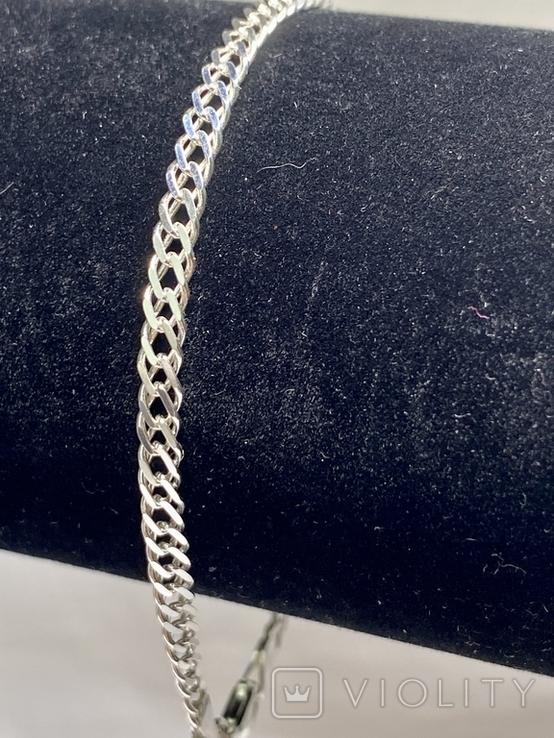 Серебряные браслеты 5 штук, фото №10