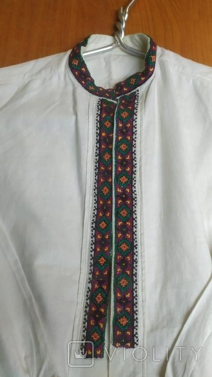 Рубашка вышиванка на подростка, фото №3