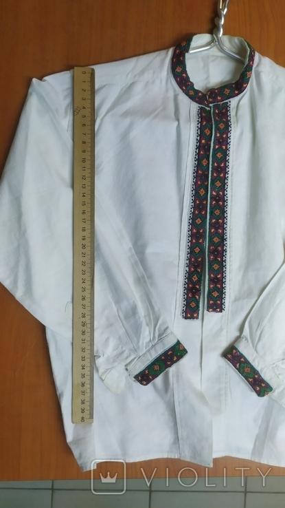 Рубашка вышиванка на подростка, фото №5