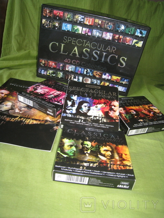 CD spectacular CLASSICS 40CD Collection, фото №6