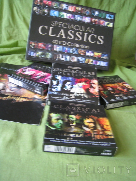 CD spectacular CLASSICS 40CD Collection, фото №8