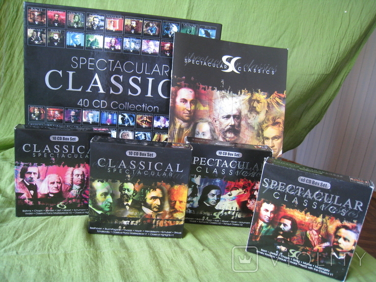 CD spectacular CLASSICS 40CD Collection, фото №9