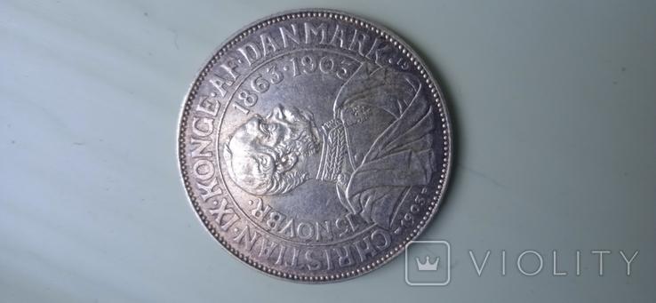 2 кроны дания 1903 г, фото №4
