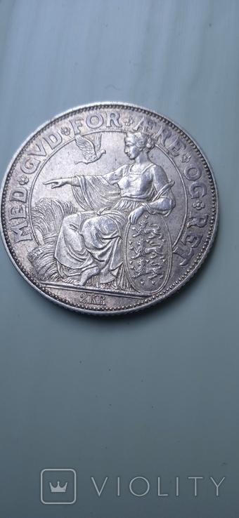 2 кроны дания 1903 г, фото №5