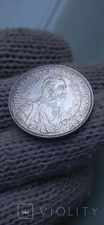 2 кроны дания 1903 г, фото №8