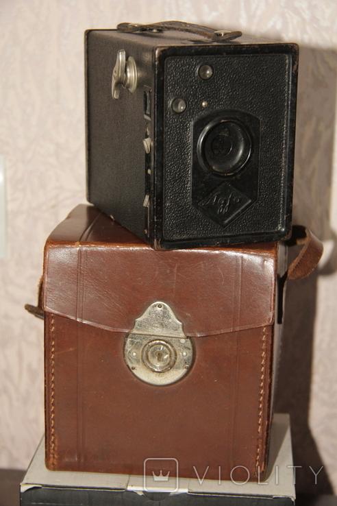 Фотокамера Agfa Box.