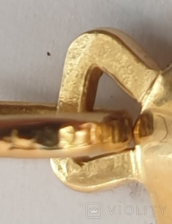 Крест, золото 750*, Италия, фото №9