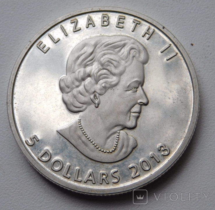 5 долларов Канада 2013, фото №4
