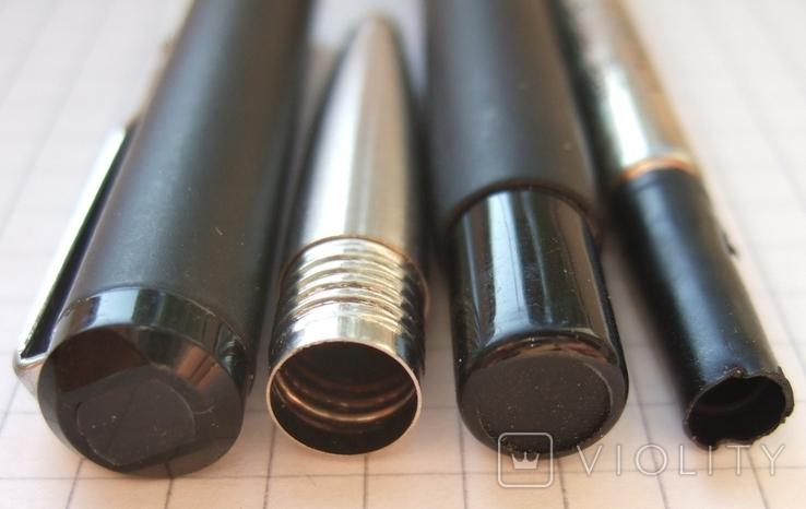 Паркер Вектор чёрный матовый. Оригинал. Сделан в Англии в 2006 году., фото №5