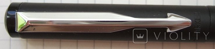 Паркер Вектор чёрный матовый. Оригинал. Сделан в Англии в 2006 году., фото №7