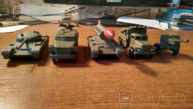 Военная техника СССР В количестве 5 шт.В отличном коллекционном состоянии, фото №5