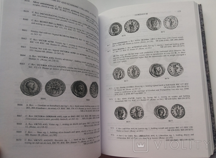 Римские монеты. Том ІІІ, репринт, фото №8