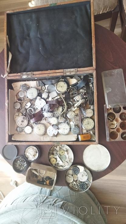 Часы разные на реставрацию., фото №2