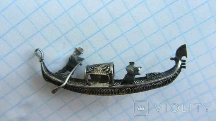 Кулон. Подвеска. Серебро, Европа., фото №5