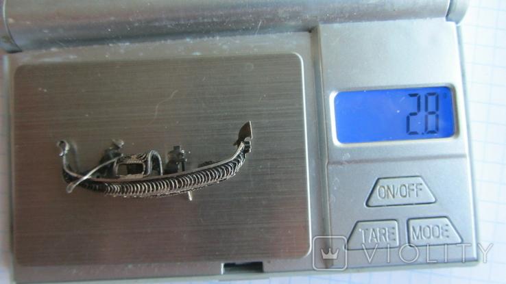 Кулон. Подвеска. Серебро, Европа., фото №6