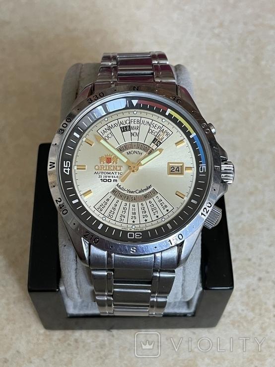 Часы Orient Multi-Year Calendar EU03-COCA, фото №2