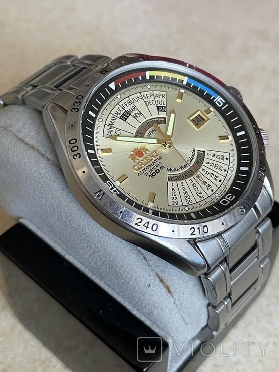 Часы Orient Multi-Year Calendar EU03-COCA, фото №7