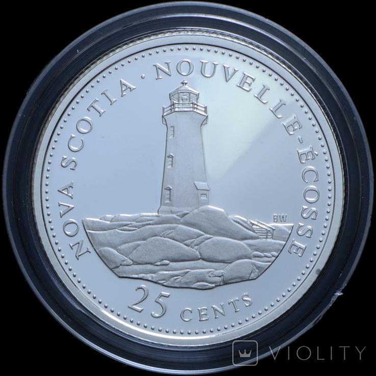 Набор 25 Центов 1992 125 лет Конфедерации, Канада, фото №7