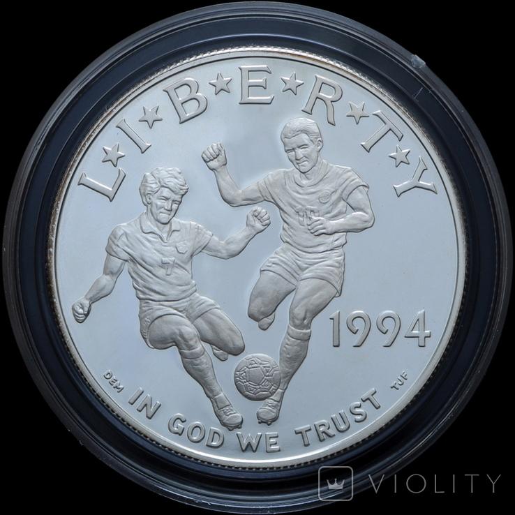 Набор 50 Центов и 1 Доллар 1994 Чемпионат Мира по Футболу, США, фото №3