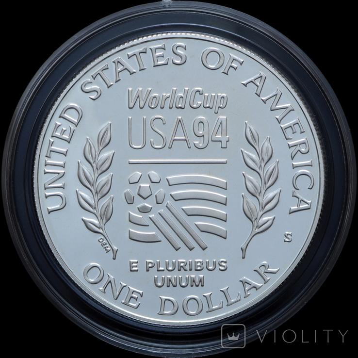 Набор 50 Центов и 1 Доллар 1994 Чемпионат Мира по Футболу, США, фото №4