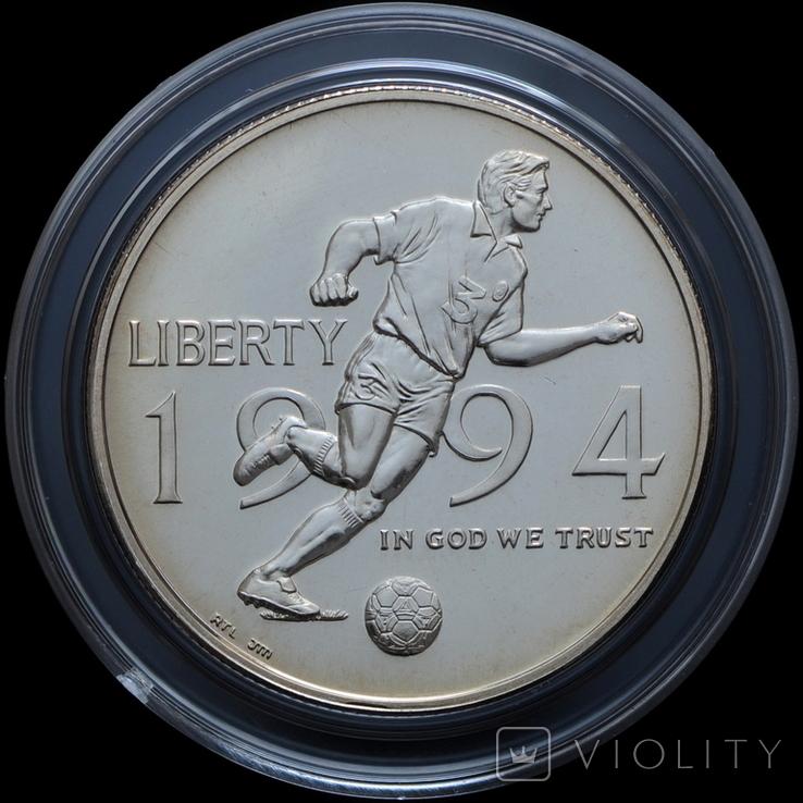 Набор 50 Центов и 1 Доллар 1994 Чемпионат Мира по Футболу, США, фото №5