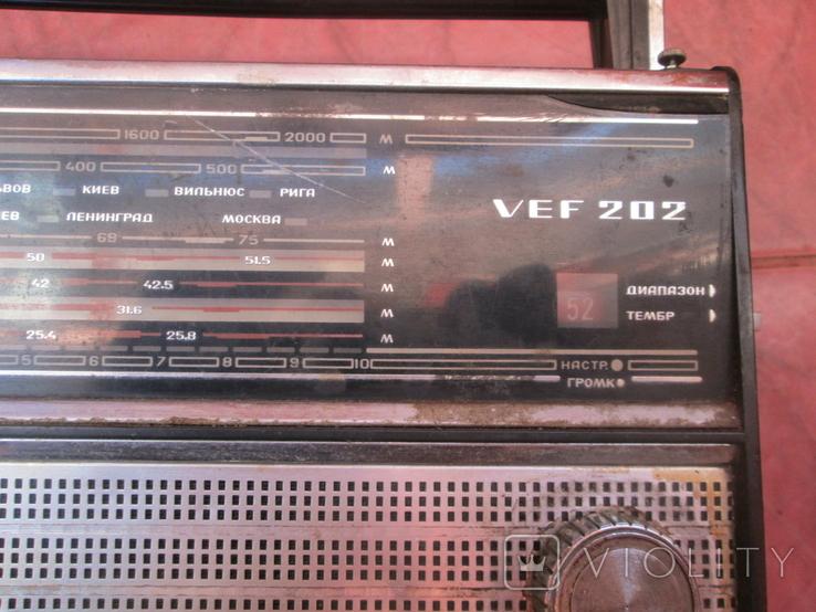 Радиоприемник VEF202, фото №6