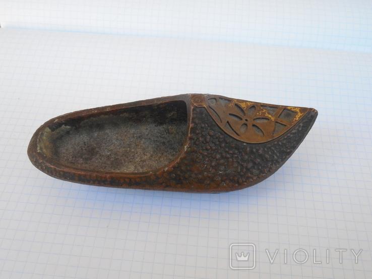 Пепельница туфелька, фото №3