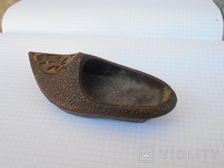 Пепельница туфелька, фото №5