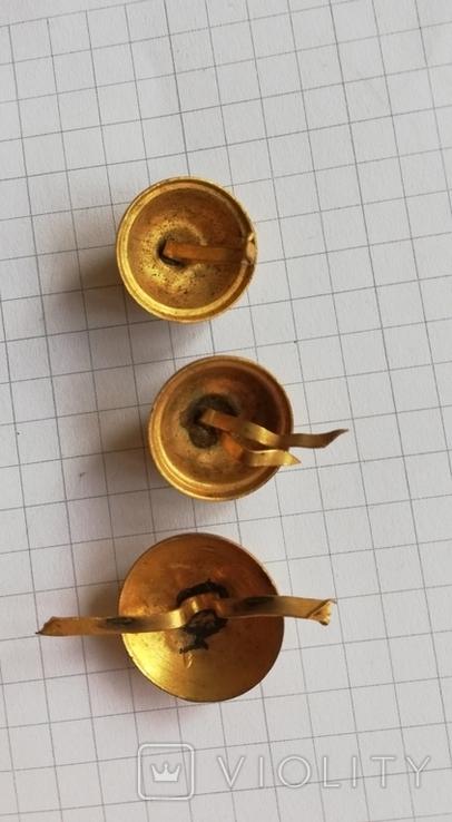 Пуговицы со знаком масонов глаз на ладоне, фото №2