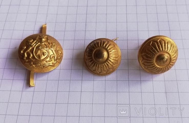 Пуговицы со знаком масонов глаз на ладоне, фото №4
