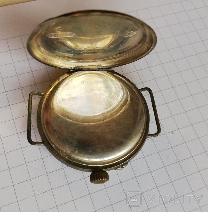 Карманные серебряные часы механика не на ходу, фото №4